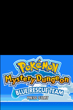 Pokémon Mystery Dungeon Blue Rescue Team title.png