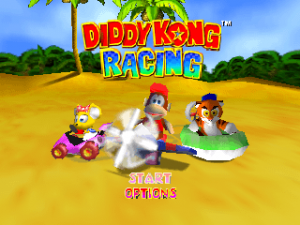 DiddyKongRacing Title.png